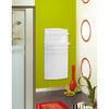 Sèche serviettes rayonnant PUPILLE avec soufflerie 700W + 800W Dim.L.52,1xH.104,6xP.18cm - Chauffage salle de bain - Chauffage & Traitement de l'air - GEDIMAT
