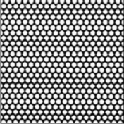 Feuille de zinc perforée Aéro 46 ép.1mm larg.1m long.2m - Métaux de couverture - Couverture & Bardage - GEDIMAT