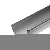 Gouttière demi-ronde sans pince zinc naturel ép.0,65mm développé 25cm long.2m - Tuile PV13 Huguenot coloris rouge - Gedimat.fr