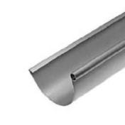 Gouttière demi-ronde avec pince zinc naturel développé 33,3cm long.4m - Radiateur à inertie sèche fonte BOLERO auto 1000W Dim.L.60,9xH.61,5xP.14,7cm - Gedimat.fr