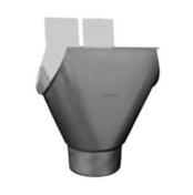 Naissance aggrafable boudin 18mm zinc naturel Diam.80mm développé 250mm - Brique terre cuite tableau-feuillure POROTHERM 25 ép.25cm haut.24,9cm long.50cm - Gedimat.fr