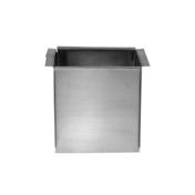 Naissance carré à souder zinc naturel 80x80mm - Lanterne bi-section diam.120/150mm coloris rouge ancien - Gedimat.fr