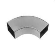 Coude carré 80x80mm zinc naturel soudé angle 72° - Store d'occultation optimale beige DKL MK04 1085S - Gedimat.fr