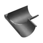 Angle intérieur équerre 90° zinc naturel pour gouttière demi-ronde développé 25cm - Listel carrelage pour mur en faïence TRAMA larg.6,5cm long.25cm coloris azurro - Gedimat.fr