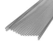 Protection de gouttière ép.1mm développé 25cm long.2m - Volet battant PVC ép.24mm blanc 2 vantaux haut.1,55m larg.1,20m - Gedimat.fr