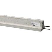 Poutrelle précontrainte béton RS 114 long.4,60m - Volet battant PVC ép.24mm blanc 1 vantail gauche haut.1,75m larg.80cm - Gedimat.fr