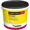Enduit de lissage Weber.MUR PATE G seau 25kg - Ragréage - Revêtement Sols & Murs - GEDIMAT