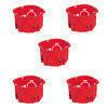 Cloison sèche pour appareillage diam.67mm prof.40mm lot de 5 - Modulaires - Boîtes - Electricité & Eclairage - GEDIMAT