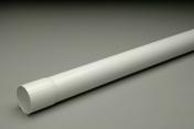 Tube de descente lisse PVC NICOLL pour eaux pluviales diam.50mm long.2m gris - Gouttières - Descentes - Couverture & Bardage - GEDIMAT