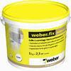 Colle carrelage allégée WEBER.FIX PREMIUM blanc en pâte seau de 5kg - Plancha fonte WEBER pour barbecue Q2000 - Gedimat.fr