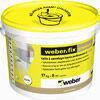 Colle carrelage allégée WEBER.FIX PREMIUM blanc en pâte seau de 17kg - Laine de roche ROCKMUR KRAFT - 1,35x0,60m Ep.45mm - R=1,25m².K/W. - Gedimat.fr
