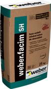Enduit de façade WEBER.FACIM SH sac 25kg - Enduits de façade - Aménagements extérieurs - GEDIMAT