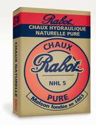 Chaux RABOT NHL 3,5 CE sac de 35kg - Faîtière/Arêtier angulaire à emboîtement coloris rouge - Gedimat.fr