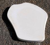 Pas japonais lisse ép.3,5cm larg.35cm long.45cm coloris ton pierre - Gravier en marbre blanc, calibre 8/16, 25kg - Gedimat.fr - Gedimat.fr