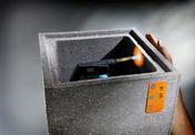 Boisseau de chemin�e b�ton de pouzzolane alv�ol� dim.int.20x40cm haut.25cm - Conduits de chemin�e - Boisseaux - Mat�riaux & Construction - GEDIMAT