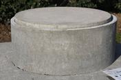 Rehausse béton pour fosse toutes eaux diam.ext.50cm haut.25cm - Traitements des eaux - Matériaux & Construction - GEDIMAT
