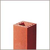 Pilier monolithe en terre cuite section de 20x20cm haut.2,80m - Poutre VULCAIN section 20x50 cm long.5,00m pour portée utile de 4,1 à 4,60m - Gedimat.fr