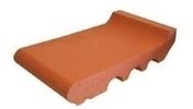 Appui de fenêtre terre cuite plein à maçonner prof.33cm larg.20cm haut.7,5cm rouge - Tuile DOUBLE-CANAL DC12 coloris vieux midi - Gedimat.fr