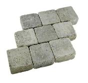 Pav�s vieillis dim.15x15cm �p.6cm coloris gris - Pav�s - Dallages - Mat�riaux & Construction - GEDIMAT