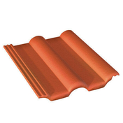 Tuile DOUBLE ROMANE coloris rouge sienne - Enduit de parement traditionnel PARDECO TYROLIEN sac de 25kg coloris O136 - Gedimat.fr