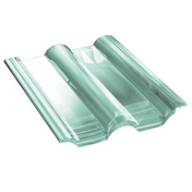 Tuile en verre DOUBLE ROMANE - Enduit de parement traditionnel PARDECO TYROLIEN sac de 25kg coloris R99 - Gedimat.fr