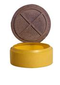 Couvercle béton pour réhausse bac préfiltre ou dégraisseur diam.40cm - Traitements des eaux - Matériaux & Construction - GEDIMAT