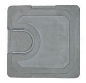 Couvercle béton pour regard ou rehausse 30x30cm - Gaine souple PVC gris diam.125mm long.3m - Gedimat.fr