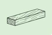 Clavette bois PREGYFAYLITE 50 ép.29mm larg.50mm long.20cm - Accessoires plaques de plâtre - Isolation & Cloison - GEDIMAT