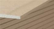 Plaque de plâtre standard PREGYPLAC BA13 ép12,5mm larg.1,20m long.2,50m - Poinçon pointe élancée coloris paille - Gedimat.fr