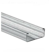 Fourrure acier galvanisé PREGYMETAL WAB Z275 S47/6,2 long.5,25m - Doublage isolant plâtre + polystyrène PREGYSTYRENE TH32 ép.10+110mm larg.1,20m long.2,60m - Gedimat.fr