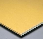 Plaque de plâtre haute-dureté PREGYDUR BA13 ép.12,5mm larg.1,20m long.2,60m - Décor PORTLAND pour sol en grès cérame emaillé RIVERSIDE dim.60x60cm coloris 60A almond - Gedimat.fr