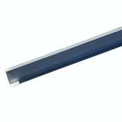 Rail acier galvanisé PREGYMETAL 48-30/5,4 larg.48mm long.3m - Lambris PVC ELEMENT COMPACT aboutable ép.8mm larg.375mm long.1,20m blanc mat - Gedimat.fr