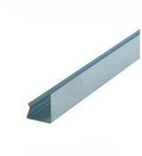 Rail acier galvanisé de contre-cloison PREGYMETAL long.3m - Bloc béton creux B60 NF ép.25cm haut.20cm long.50cm - Gedimat.fr