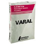 Plâtre manuel traditionnel VARAL sac de 40kg - Plâtres en poudre - Matériaux & Construction - GEDIMAT