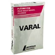 Plâtre manuel traditionnel VARAL sac de 40kg - Colle carrelage mural boite plastique 1,5kg - Gedimat.fr