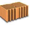 Brique terre cuite complémentaire POROTHERM R42 ép.42,5cm haut.24,9cm long.28,6cm - Brique terre cuite tableau POROTHERM R42 ép.42cm haut.24,9 cm long.28,6cm - Gedimat.fr