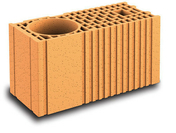 Brique terre cuite poteau complémentaire POROTHERM R20 ép.20cm haut.18,9cm long.45cm - Bois Massif Abouté (BMA) Sapin/Epicéa non traité section 45x120 long.5m - Gedimat.fr