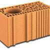 Brique terre cuite poteau POROTHERM R25 ép.25cm haut.24,9cm long.50cm - Plaque fibres-gypse FERMACELL format hauteur d'étage BD ép.18mm larg.1,20m long.2,40m - Gedimat.fr