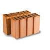 Demi-brique terre cuite POROTHERM PR42 ép.42,5cm haut.24,9cm long.12,3cm - Briques de construction - Matériaux & Construction - GEDIMAT