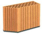 Brique terre cuite avec angle 135° POROTHERM R37 ép.37,5cm haut.24,9cm long.12,5cm - Briques de construction - Matériaux & Construction - GEDIMAT