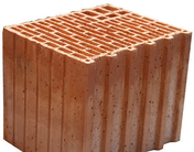 Brique terre cuite tableau POROTHERM R30 ép.30cm haut.24,9 cm long.25cm - Brique terre cuite base POROTHERM R30 ép.30cm haut.24,9cm long.37,3cm - Gedimat.fr