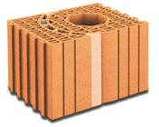 Brique terre cuite poteau multi-angles POROTHERM R30 ép.30cmhaut.24,9cm long.42,5cm - Briques de construction - Matériaux & Construction - GEDIMAT