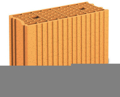 Brique terre cuite base POROTHERM GFR20 TH ép.20cm haut.29,9cm long.50cm - About de rive Shed droit pour tuiles TERREAL coloris vieilli terroir - Gedimat.fr