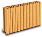 Brique terre cuite CLOISOBRIC T10 ép.10cm long.37,5cm haut.19cm - Porte de garage basculante débordante sans rail haut.2,125m larg.2,50m - Gedimat.fr