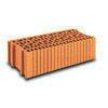Brique terre cuite arase POROTHERM R25 ép.25cm haut.12,4 cm long.50cm - Briques de construction - Matériaux & Construction - GEDIMAT