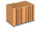 Brique terre cuite base POROTHERM R37 ép.37,5cm haut.24,9cm long.25cm - Poutre VULCAIN section 20x35 cm long.5,50m pour portée utile de 4,6 à 5,10m - Gedimat.fr