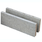 Bloc béton de chaînage horizontal NF B40 ép.15cm haut.20cm long.50cm - Madrier Sapin/Epicéa traitement classe 2 section 225x75mm long.9m - Gedimat.fr
