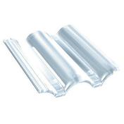 Tuile en plexiglass PLEIN CIEL - Té égal à sertir pour tube multicouche Fluxo diam.32mm - Gedimat.fr