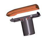 Kit ventilation passive DUROVENT avec lanterne diam.110mm coloris ardoise - Rencontre 4 voies pour faîtières à pans coloris rouge naturel - Gedimat.fr
