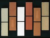 Brique r�fractaire long.22cm larg.11cm �p.3cm coloris flamm� - Conduits de chemin�e - Boisseaux - Mat�riaux & Construction - GEDIMAT